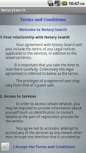 Notary Search - screenshot thumbnail