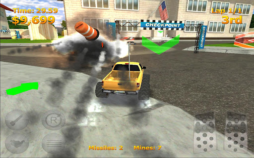 RC Mini Racers v1.9 Modded APK