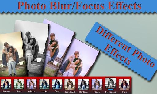 Photo Focus Background Blur