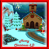 Merry Christmas Snow 3d LiveW