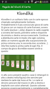 Regole dei Giochi di Carte- screenshot thumbnail