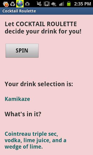 Cocktail Roulette