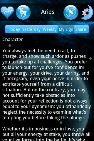 Horoscopes Pro- screenshot