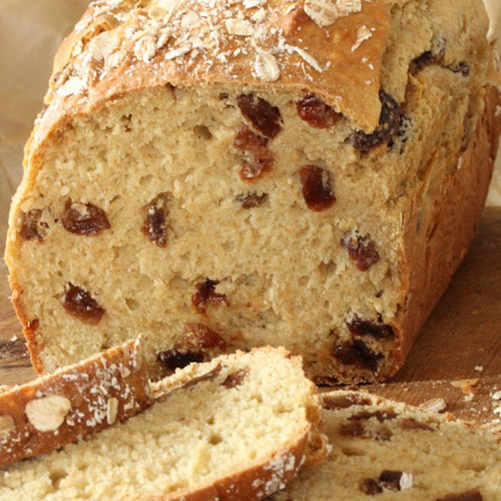 Fruit Soda Bread with Raisins Recipe