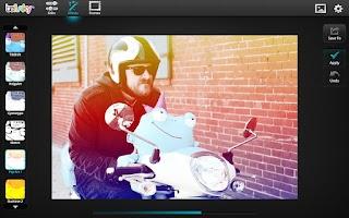 Screenshot of BeFunky Photo Editor - Tablets