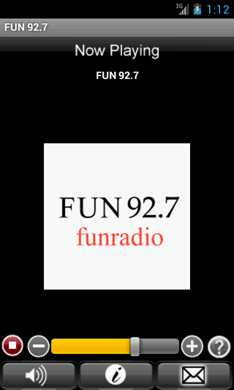 FUN 92.7 - screenshot