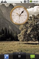 Screenshot of The old one Clock Widget