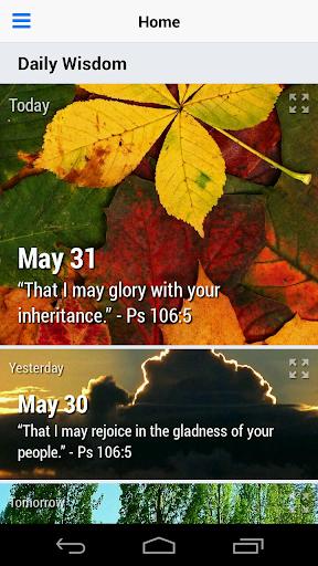 Daily Wisdom Devotional