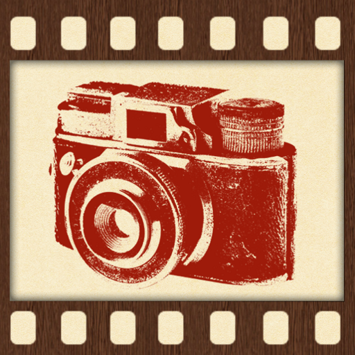 レトロ風カメラ 攝影 LOGO-玩APPs