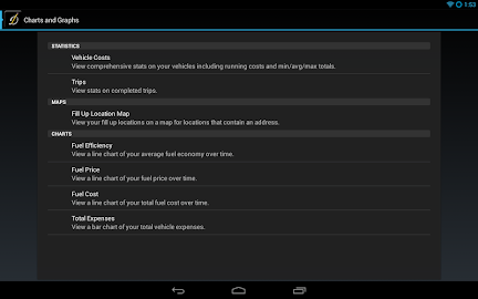 DriverDiary - Gas Mileage Screenshot 14