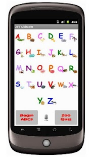 Zoo Alphabet (adfree) - screenshot thumbnail