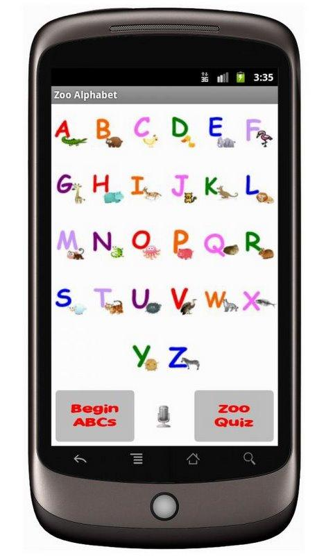 Zoo Alphabet (adfree) - screenshot