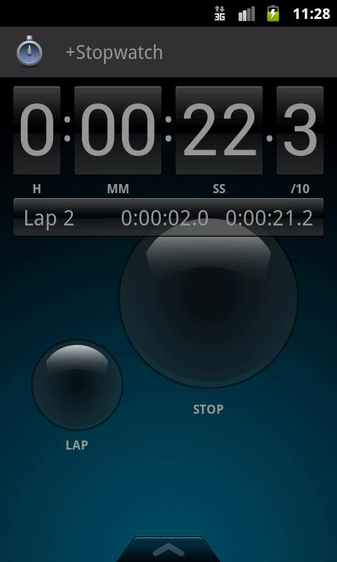 +Stopwatch - screenshot