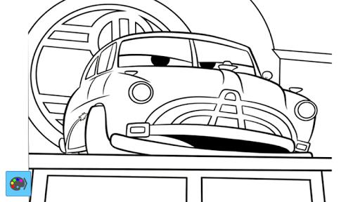 Fantastic Car Coloring ANL