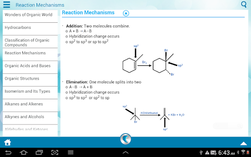 Organic Chemistry by WAGmob - screenshot thumbnail