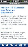 Screenshot of Colombia Civil Code