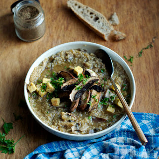 Mushroom & Quinoa Soup.