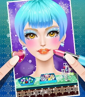 Ice Princess Fever Salon Game- screenshot thumbnail