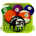 3D Pool game – 3ILLIARDS Free logo