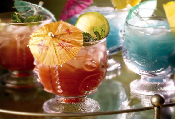 Mai Tai and Blue Hawaiian Cocktails Recipe