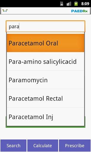 Kids Drug Dosage Calc - PaedRx