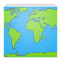 World Map App icon