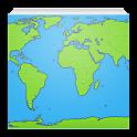 Карта мира icon