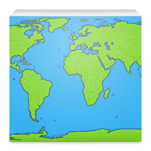 World map app free android app market world map app app icon gumiabroncs Image collections