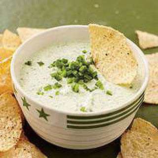 Zippy Green Chile Dip