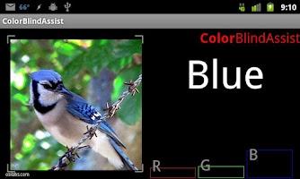 Screenshot of Colorblind Assist