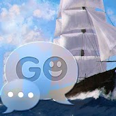 GO SMS Pro Theme Sea Ship