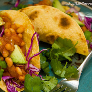 White Bean - Potato Tacos