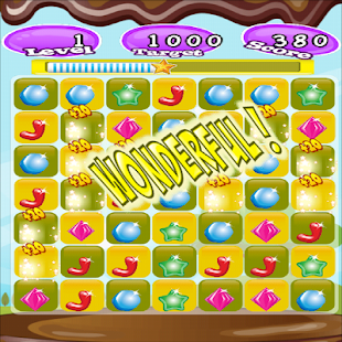 Candy Crash 2D Game