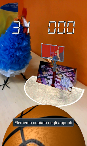 Basket AR augmented reality