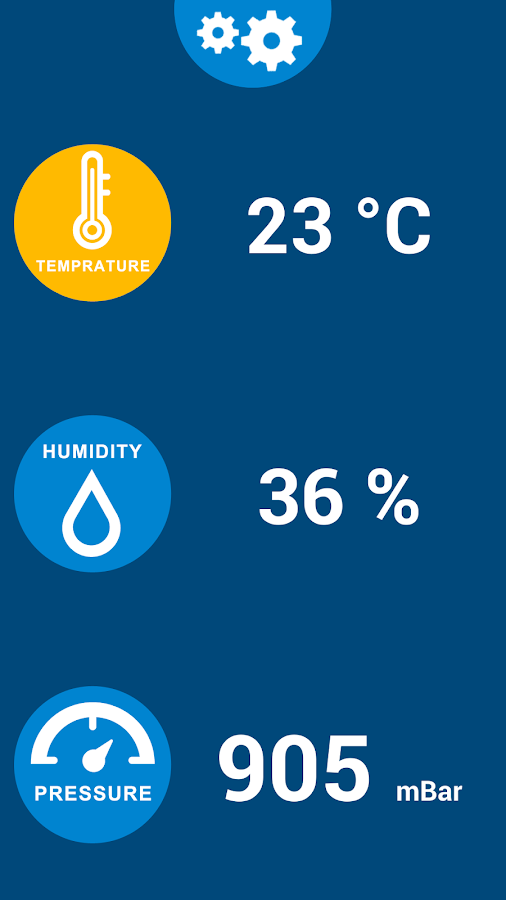 Thermometer Galaxy S4 Free- screenshot