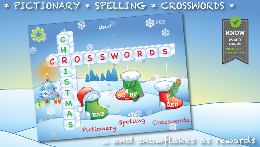 My First Christmas Crosswords