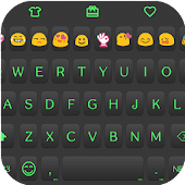Magic Black Emoji Keyboard