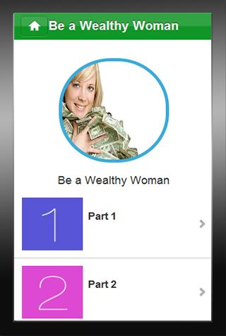 Becoming a Wealthy Woman - screenshot