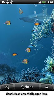 Shark Reef Live Wallpaper Free Screenshot 3