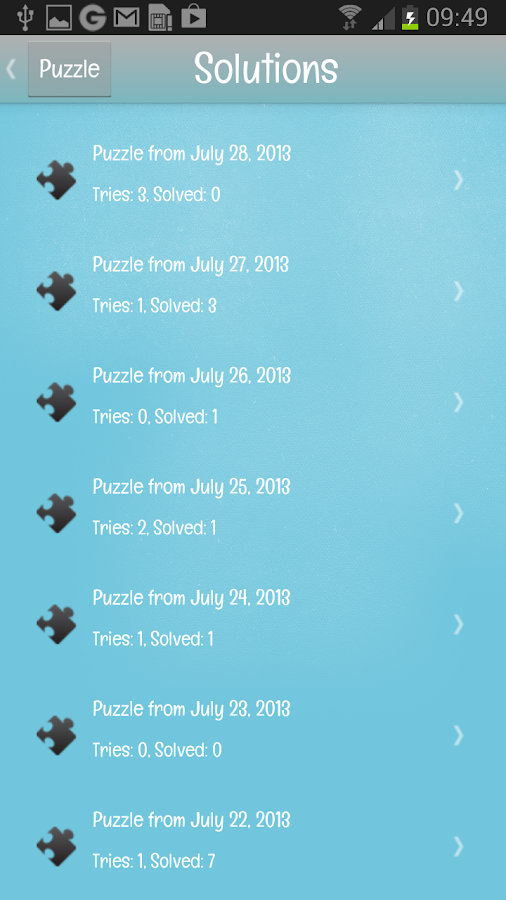Days of Puzzle- screenshot