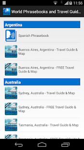 World Phrasebooks & Guides- screenshot thumbnail