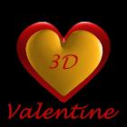 Valentines 3D Free Wallpaper icon
