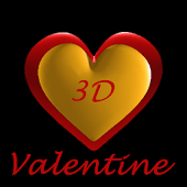 Valentines 3D Free Wallpaper