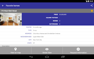 Screenshot of Real Estate sale & rent Trovit