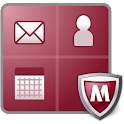 McAfee Secure Container logo