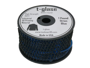 Taulman Blue T-Glase - 3.00mm (1lb)