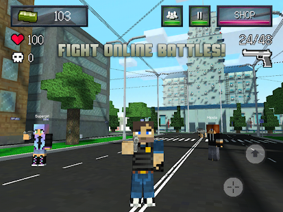 BLOCK WARS - Mine Mini Shooter - screenshot thumbnail
