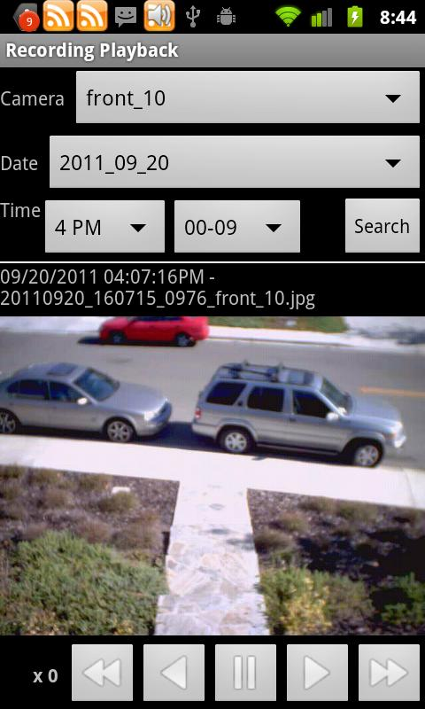 IP Cam Viewer Basic - screenshot