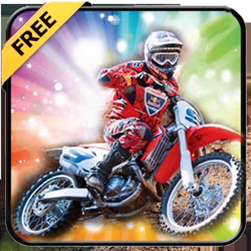 自由越野摩托車賽車 LOGO-APP點子