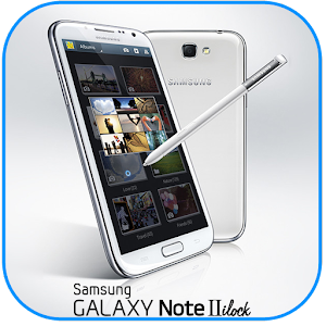 Galaxy Note II iLock app for android
